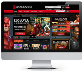 Genting UK Casino Screenshot