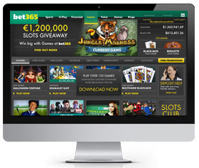 bet365 UK casino screenshot